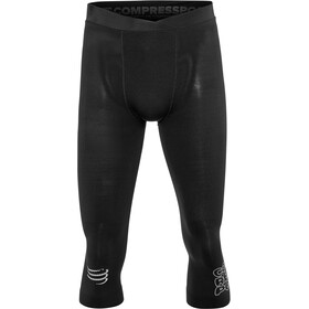 Compressport Running Under Control 3/4 Pirate Pants, black